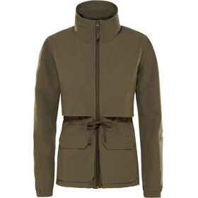 The North Face Sightseer Jacket Women New Taupe Green